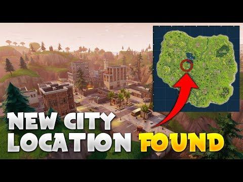 NEW FORTNITE CITY LOCATION FOUND! - Fortnite Battle Royale Update! (New City)