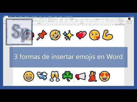 Word – 📢 3 Formas De Insertar Emojis En Word 😎. Tutorial En Español HD