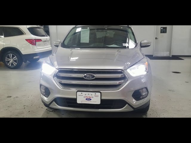 2017 Ford  Escape Titanium low miles