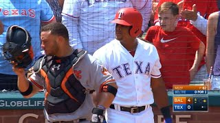 Beltre doubles to join the 3,000-hit club thumbnail