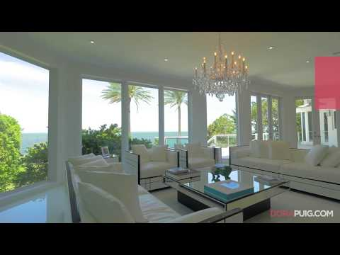 Modern Bayfront Estate - 12 Tahiti Beach Island Road, Coral Gables Luxury Home