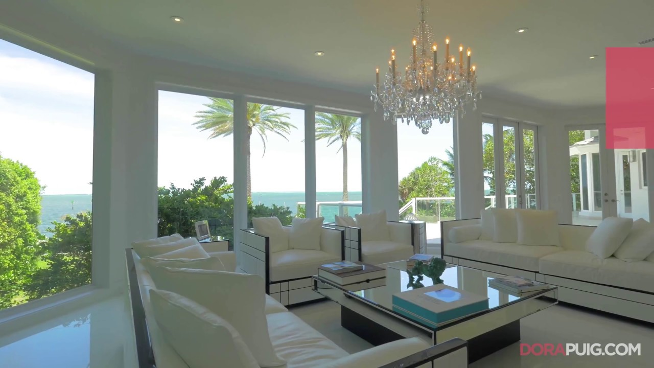 Modern Bayfront Estate   12 Tahiti Beach Island Road, Coral Gables Luxury  Home