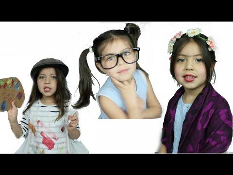 Disfraces De Ultimo Minuto Para Niñas Especial Halloween Lore Peñaloza Youtube