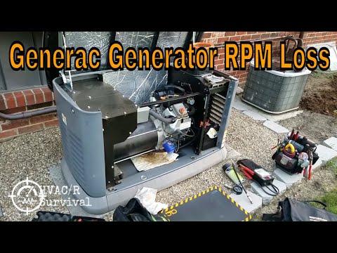 Generac Honeywell Generator RPM Sense Loss & Random Problems Model 60341
