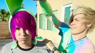 We play Rock, Paper, Scissors, SLIME! SO MUCH SLIME. This video does not show you how to make slime. This is not a slime tutorial. This is just two boys, ...