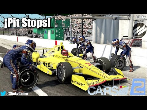 Project CARS 2 Gameplay - Pit Stops - Boxes [GT3, F1, LMP1, Indycar, Touring Car, Road Car]