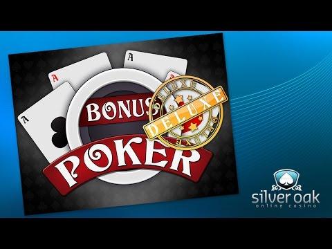 Watch Bonus Poker Deluxe Video From Silver Oak Casino