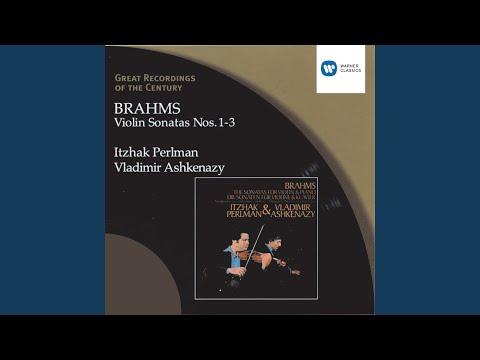 Sonata for Violin and Piano No. 3 in D minor, Op. 108: III. Un poco presto e con sentimento