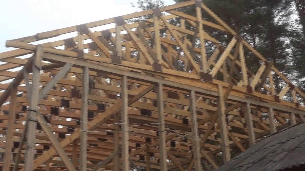 Деревянные фермы перекрытия своими руками фото 382