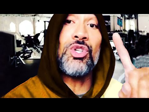 "Dwayne ""The Rock"" Johnson Ultimate Gym Motivation - all Instagram Workout"