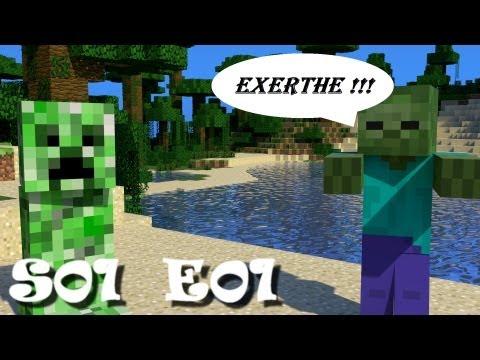 Exerth v Minecraftu - S01E01 - Raw materials