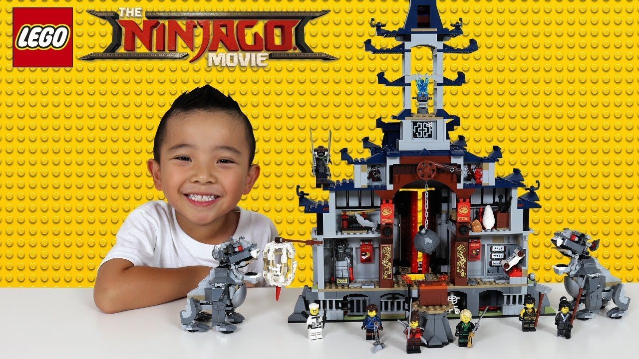 LEGO NINJAGO Temple Of The Ultimate Weapon Set Unboxing Fun With Ckn Toys