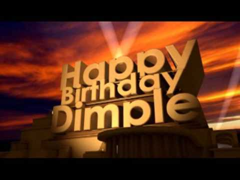 Happy Birthday Dimple Youtube