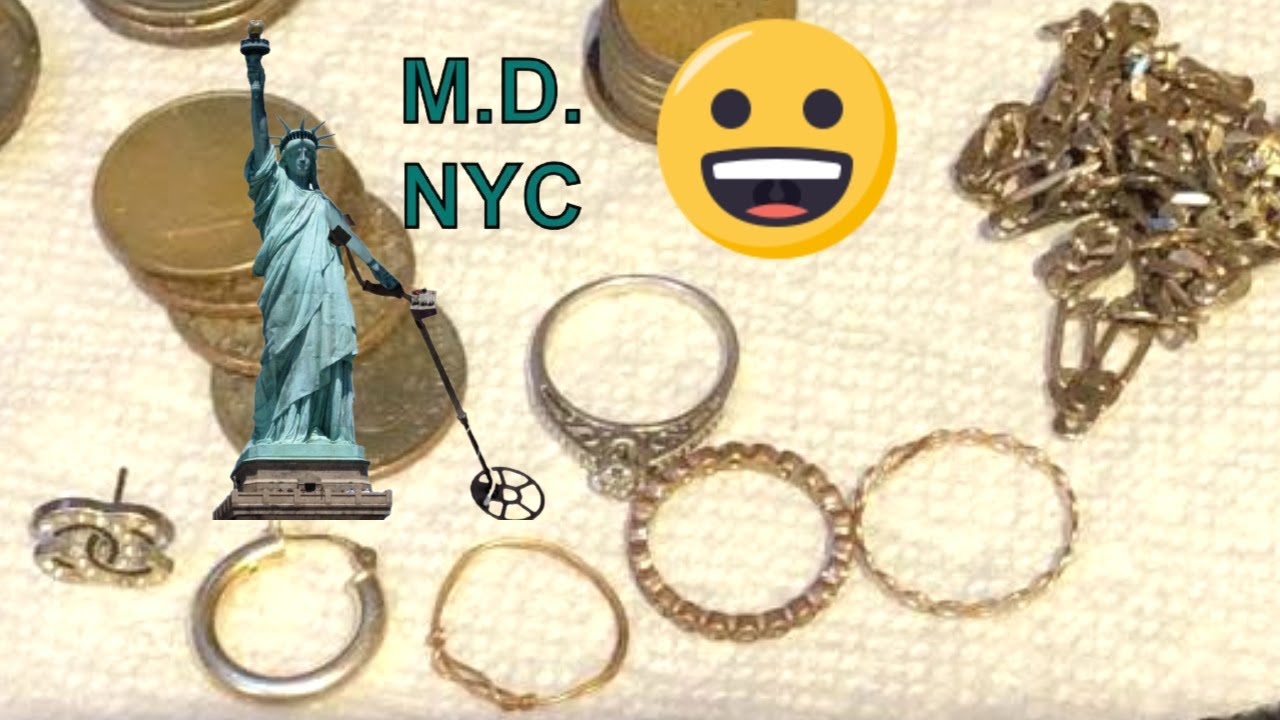 New York City Treasure Season Has Started!: Metal Detecting NYC