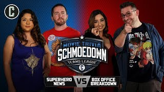 Superhero News vs. Box Office Breakdown - Movie Trivia Schmoedown
