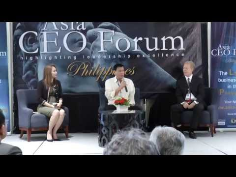 Must Watch Q&A with Duterte!