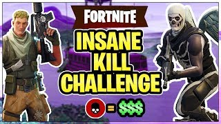 """I Will Donate $10 For Every Kill"" (Fortnite Battle Royale)"