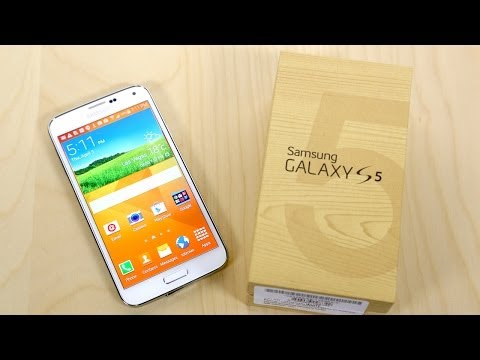 Samsung Galaxy S5 Unboxing!