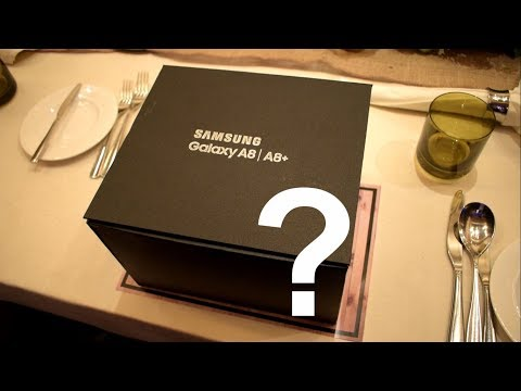Unboxing Samsung A8 Plus 2018 Indonesia - Spesial Box!