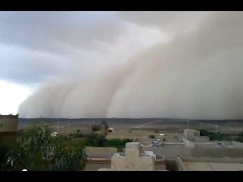 Tempestade de Areia - Giant SandStorm in Morocco