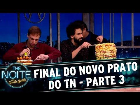 Novo Prato do The Noite (19/09/17)   Parte 3