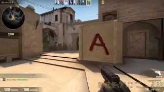 CSGO 1v5 Knife Ace on Mirage (Strong Language) 1080p60
