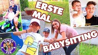 ERSTES MAL BABYSITTING - MILEY VERLÄSST UNS - Family Fun