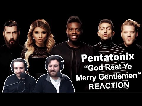 Pentatonix  God Rest Ye Merry Gentlemen Reaction