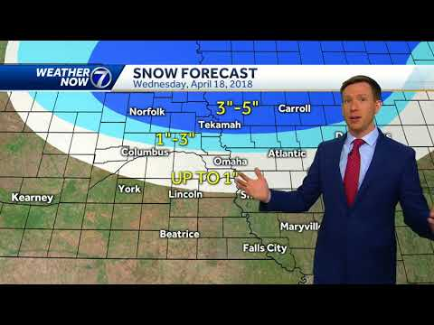 Light snow early Wednesday in Omaha, big improvements coming in the forecast