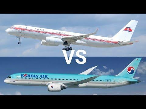 Air Koryo VS Korean Air