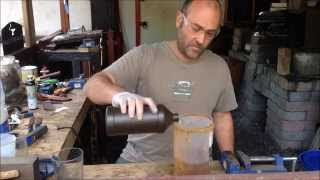 Making Ferric Chloride (FeCl3) for Blade Etching
