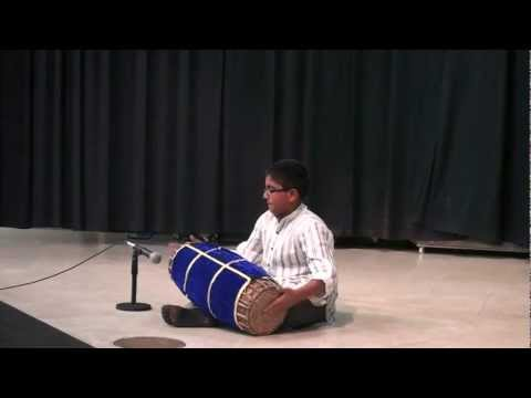 Rohanz first Mridangam Performance @ Fox Chapel Elementary School-Multicultural Night