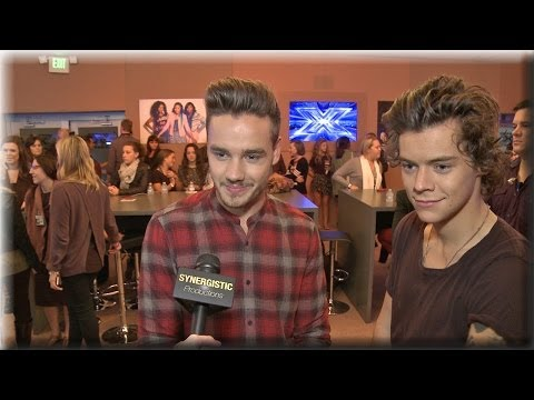 One Direction - Harry & Liam - Gifts, Album's Fave Songs & The X Factor