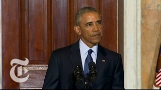 Obama Speaks on Trump, ISIS and Orlando | Orlando Nightclub Shooting | The New York Times
