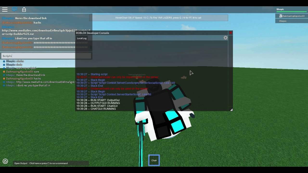 How to script on roblox games