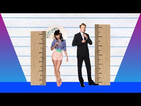 How Much Taller? - Katy Perry vs Conan O