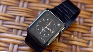 Space Black Stainless Steel Apple Watch unboxing