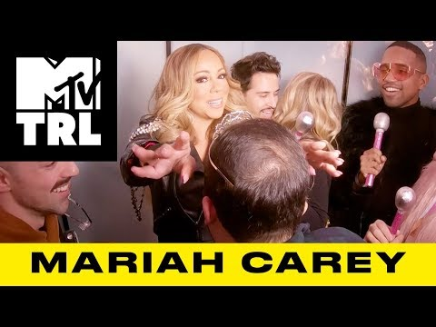Mariah Carey Shocks Superfans w/ 'Always Be My Baby' & 'GTFO' Sing-Alongs | TRL