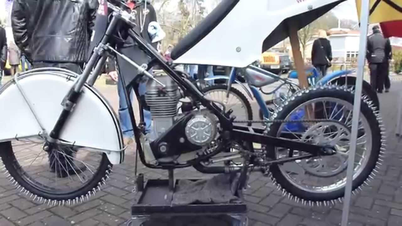 Jawa Typ 898 64 Hp Ice Speedway Motorcycle Youtube