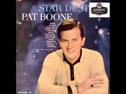 PAT BOONESTARDUST1958FULL VINYL DISC REMASTERED