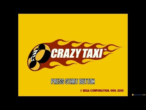 Crazy Taxi gameplay (PC Game, 2000) thumbnail