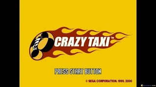 Crazy Taxi gameplay (PC Game, 2000)