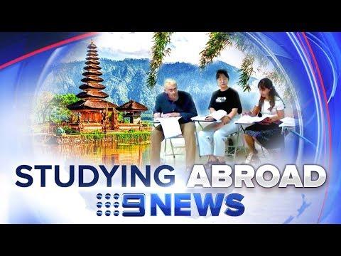 australian-students-flocking-to-indonesia- -nine-news-australia