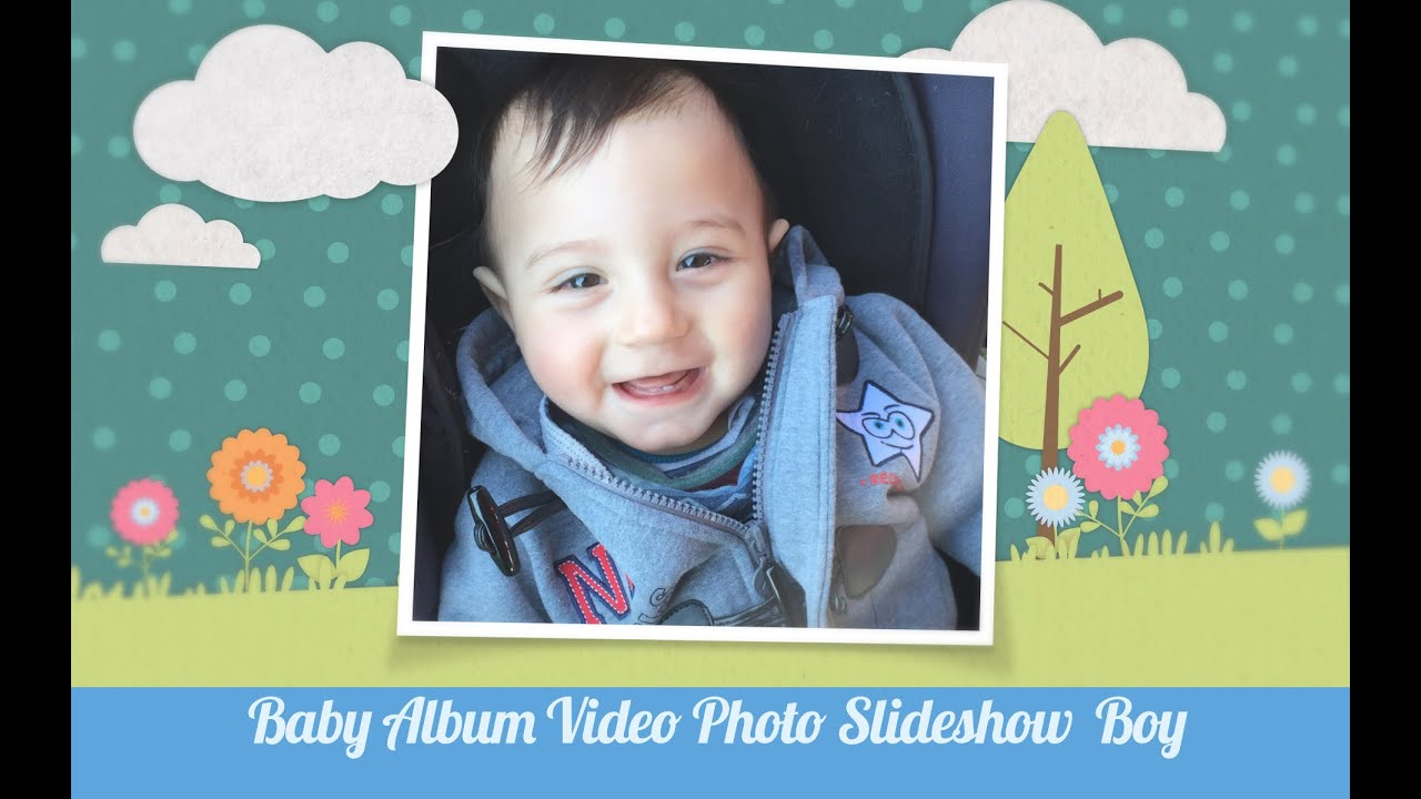 Slideshow presentation for baby shower