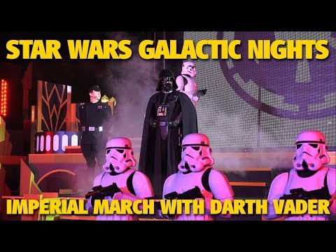 Imperial March with Darth Vader | Star Wars Galactic Nights