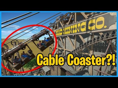 Mad Mining Corporation: Suspended Cable Coaster!? Coaster Sp