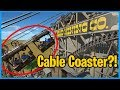 Mad Mining Corporation: Suspended Cable Coaster!? Coaster Spotlight 400!! #PlanetCoaster