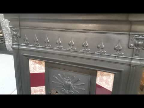 Fully Restored Combination Fireplace at Holyrood Architectural Salvage