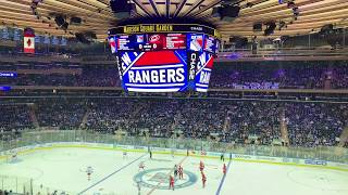 New York Rangers 2018-2019 Intro (vs. Carolina Hurricanes)