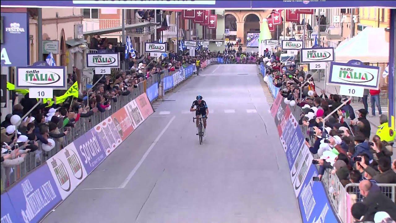 10b32e4c064 Tirreno-Adriatico 2015: Stage 4 Highlights - Cyclingnews.com - YouTube